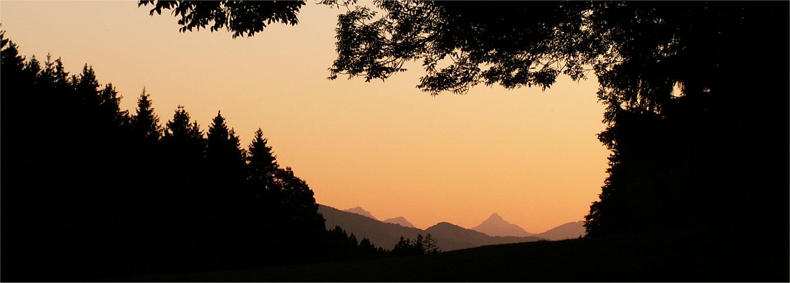 Aften ved Lechbruck