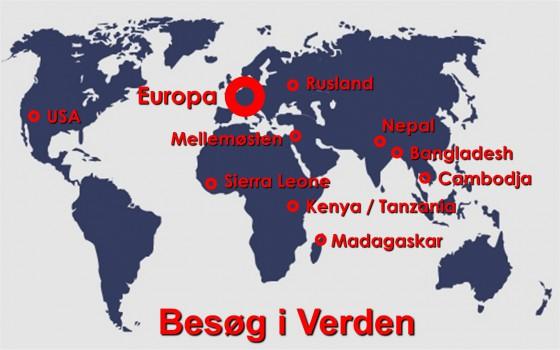 Besøg i verden