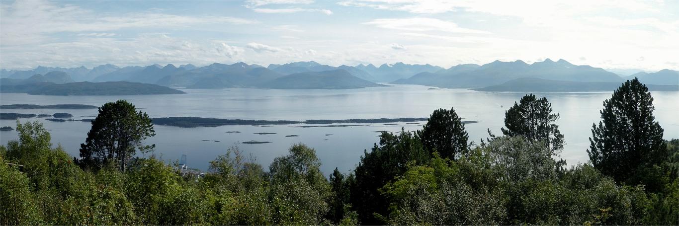 Molde-panoramaet i Norge