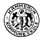 Hammerum skoles logo - det gamle herredsvåben!
