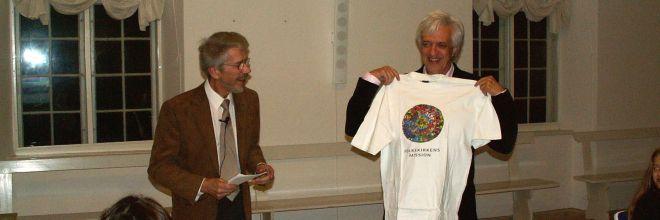 Overdragelsesreception i Folkekirkens Mission januar 2007