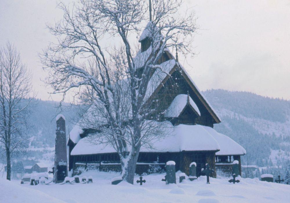 Norgestur 1972 - Eidsborg stavkirke