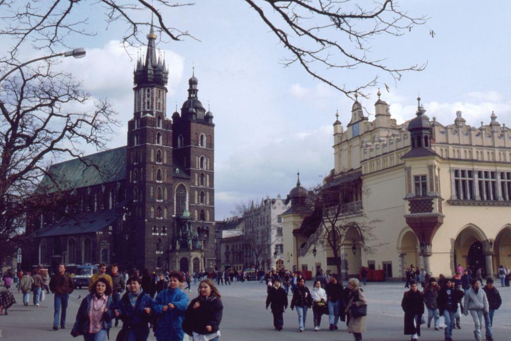 Torvet i Krakow