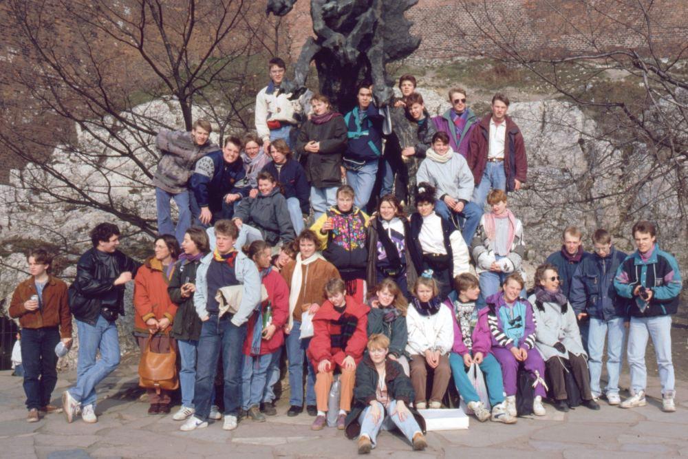 Eleverne i Krakow
