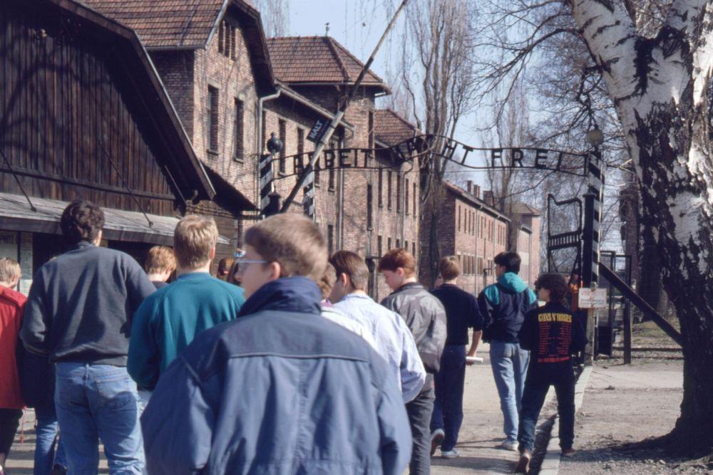 Besøg i Auschwitz