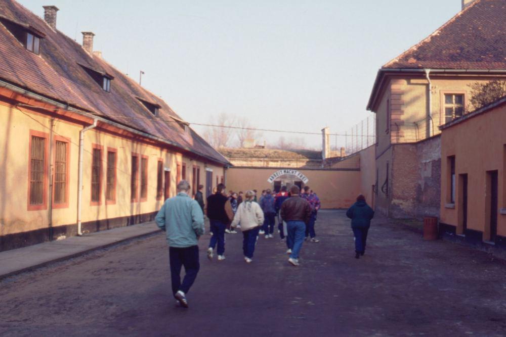 Besøg i Theresienstadt