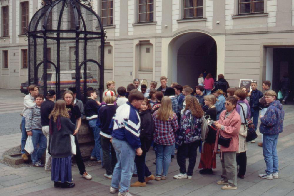 På Borgen i Prag