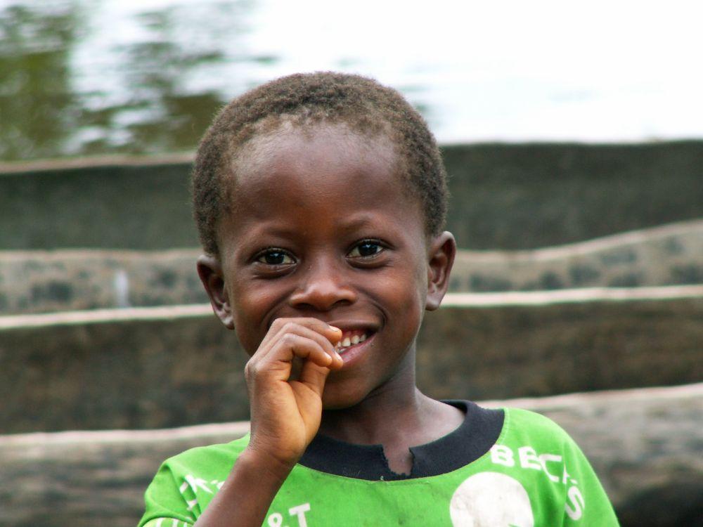Dreng fra Sierra Leone