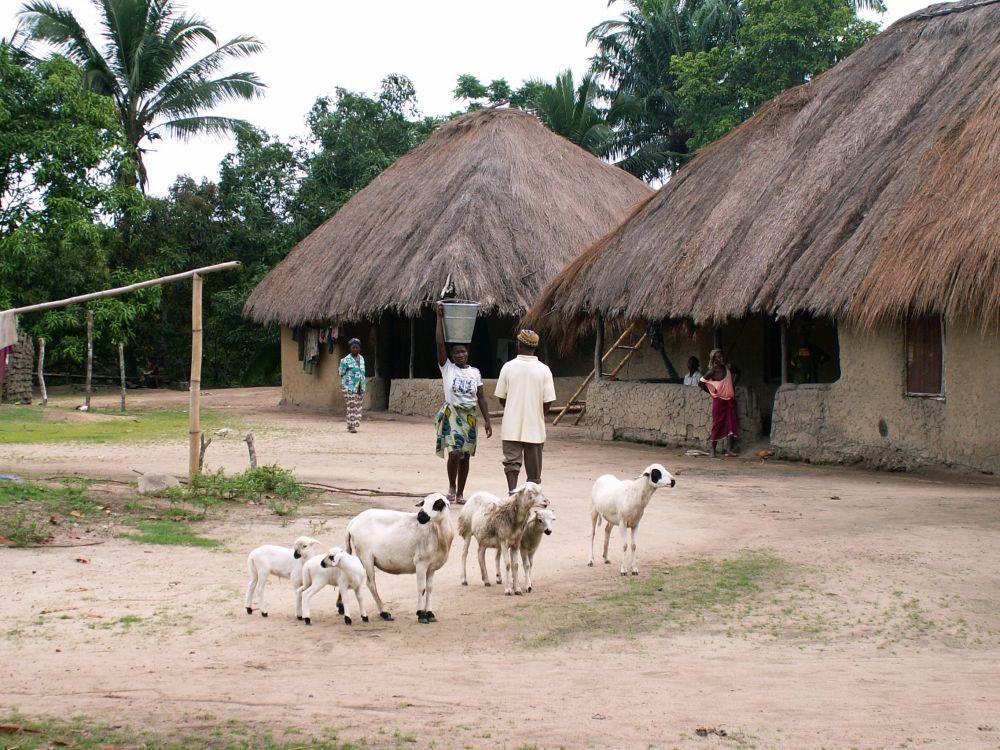 Sierra Leonsk landsby