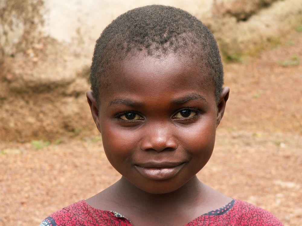 Pige fra Sierra Leone