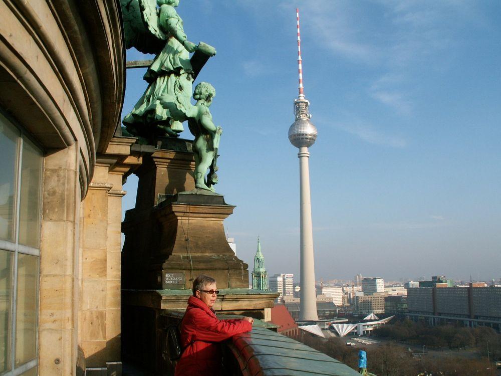 Udsigt fra Berliner Doms kuppel