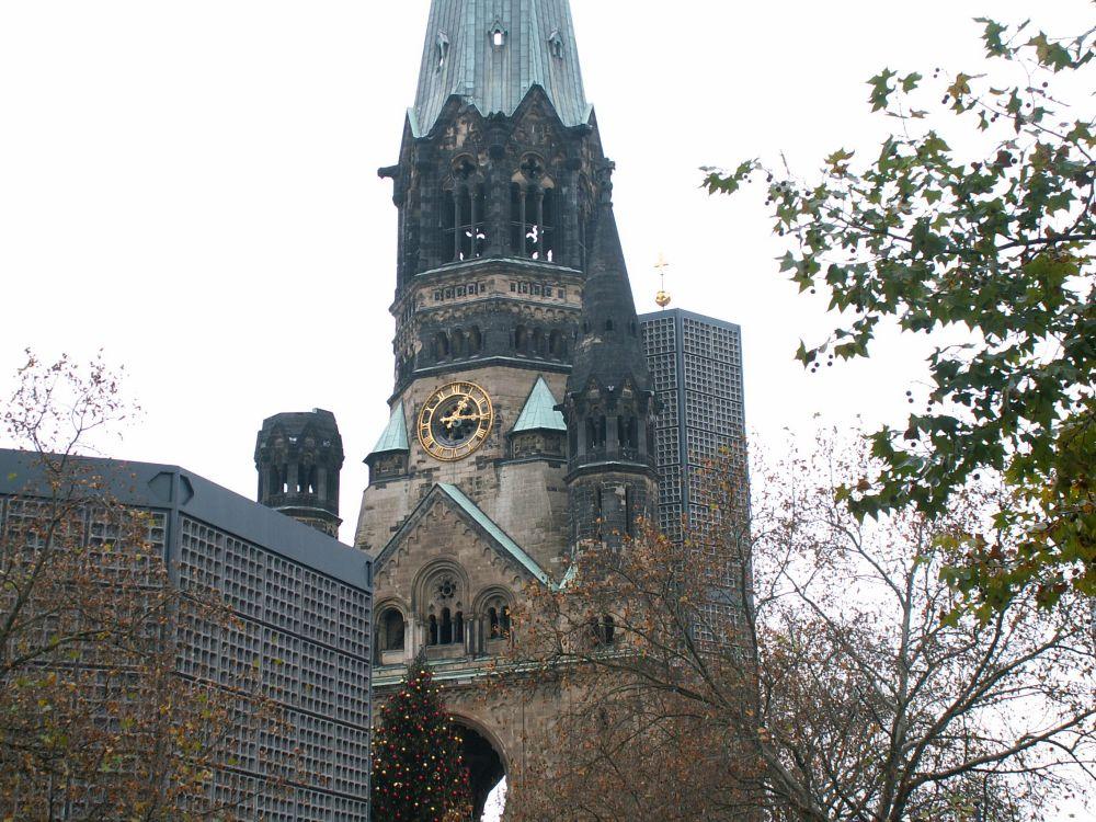 Gedachtniskirche på Kurfürstendamn