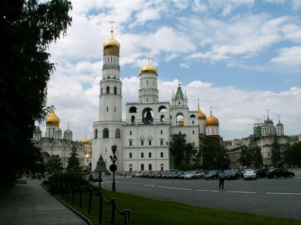 Peter den Stores klokketårn i Moskvas Kreml