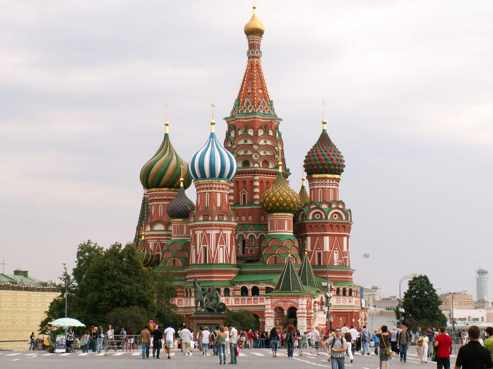 Basilkatedralen på Moskvas Røde Plads