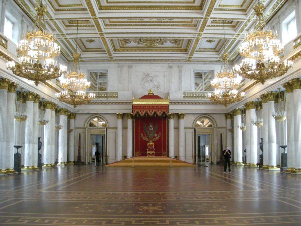 Tronsalen i Vinterpaladset i Sct. Petersborg