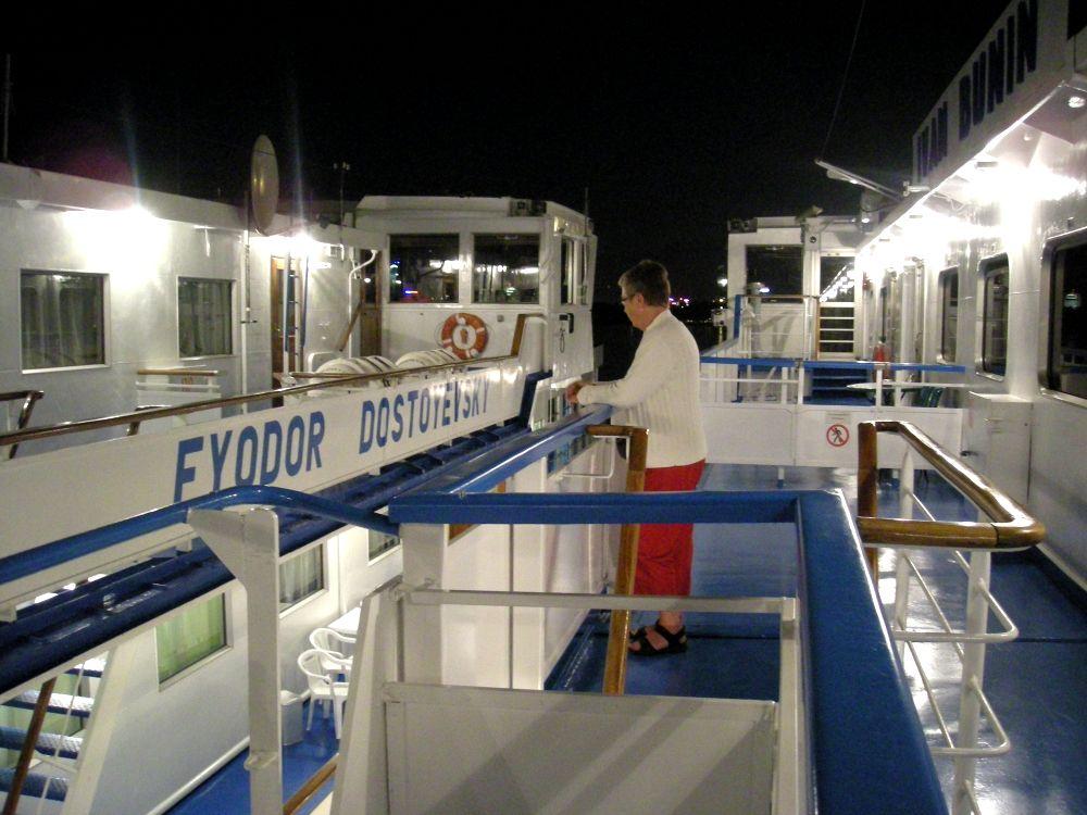 Aase på skibet