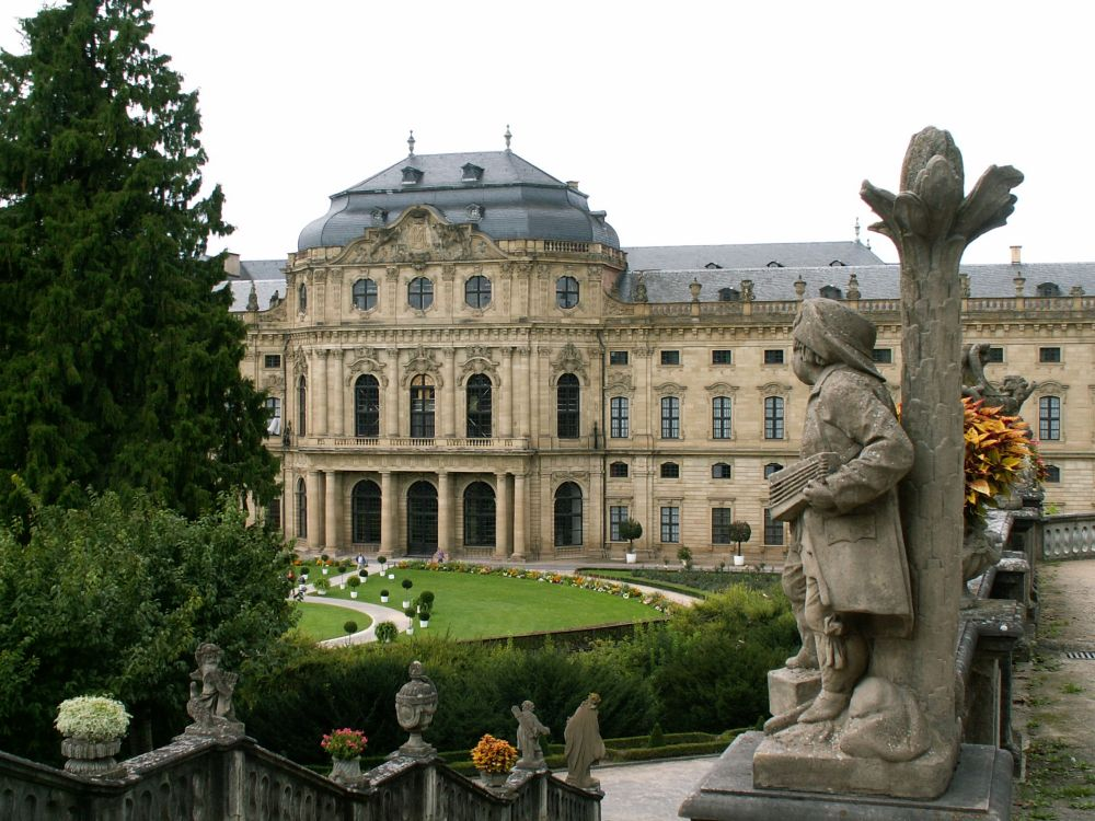 Ærkebispepaladset i Würzburg