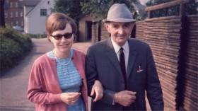 Aase og hendes far 1967