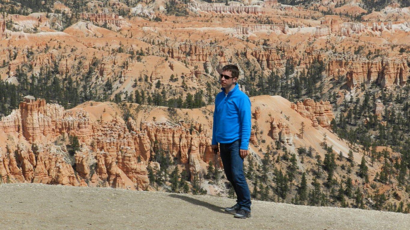 Heine i Bryce Canyon NP, USA 2012