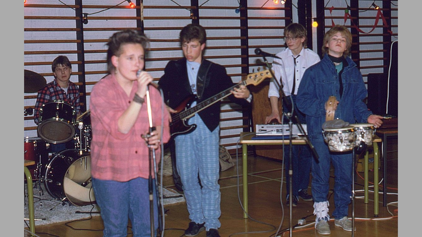 Heine i Ørva Band 1986