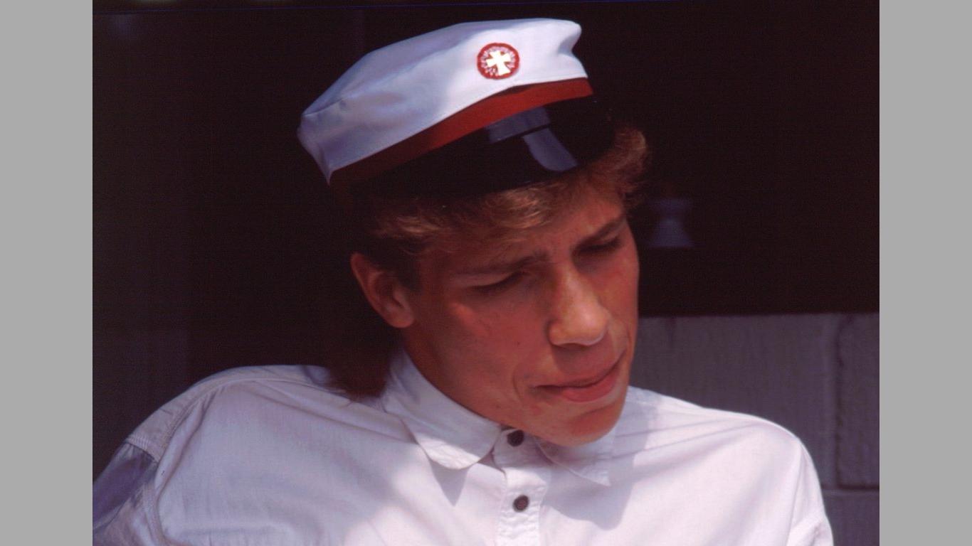 Heine student 1990