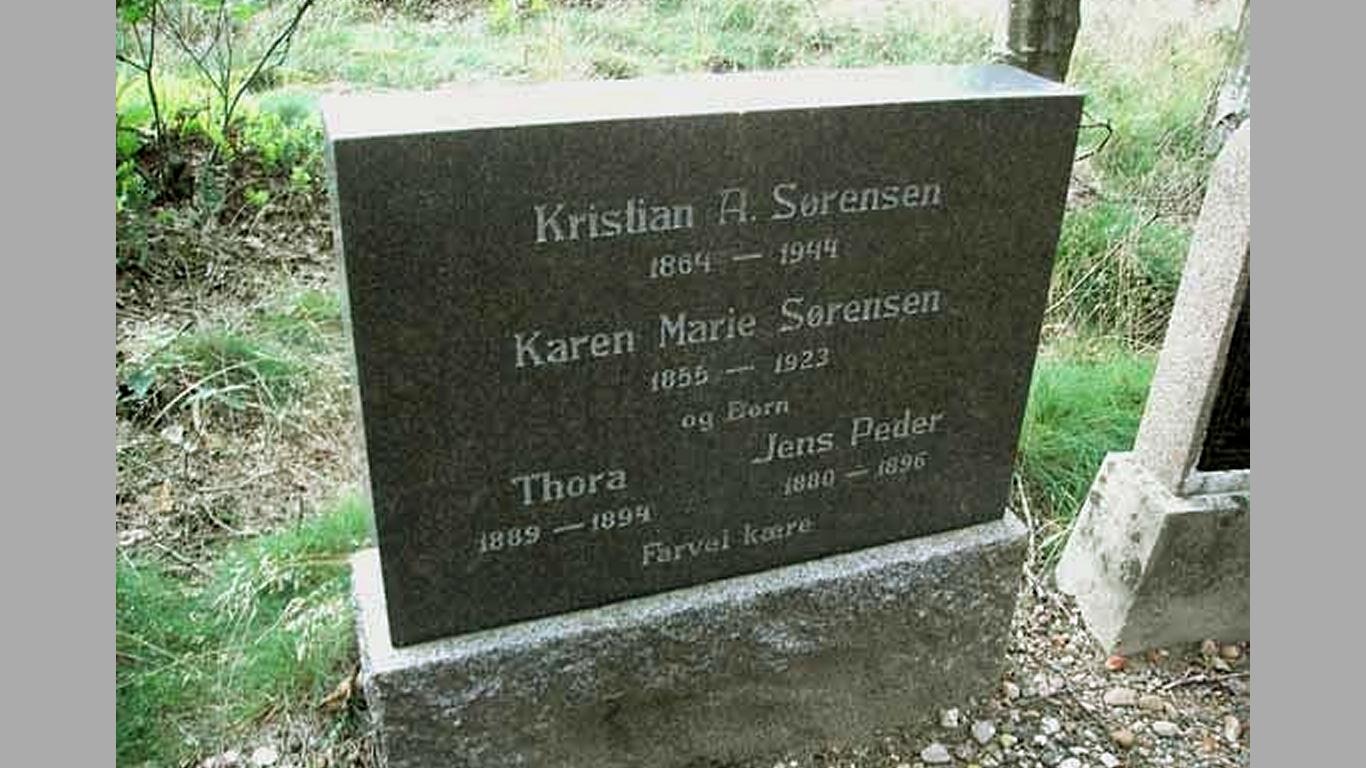Kristian - Karen Marie - Thora - Jens Peder