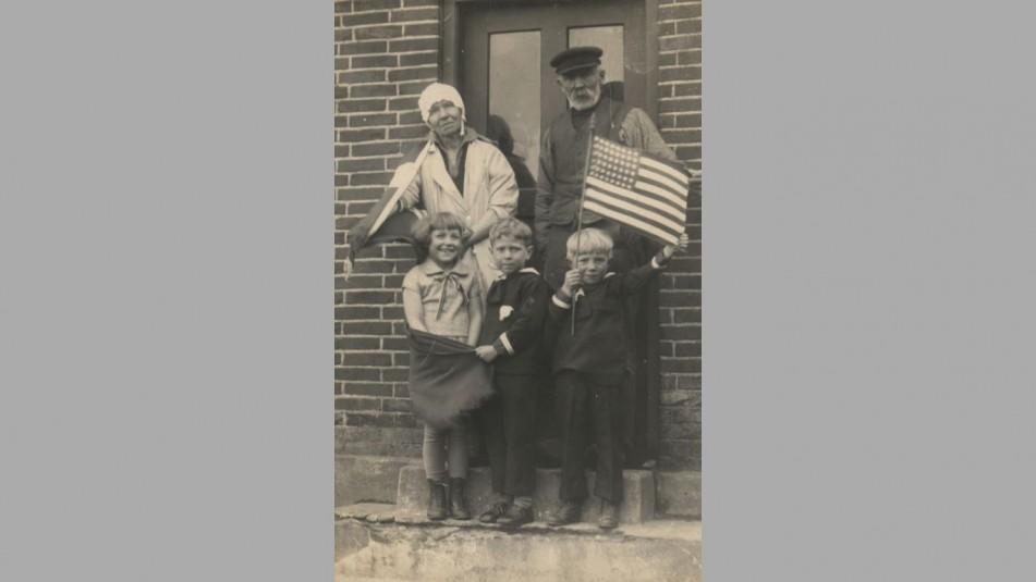 Søren Østergaard med familie - ukendt hvem