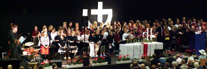 Danske Kirkedage i Haderslev 2007 - Åbningsgudstjenesten
