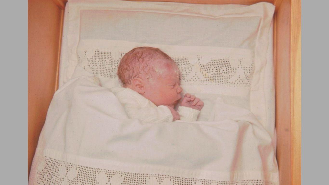 Heine nyfødt 1970