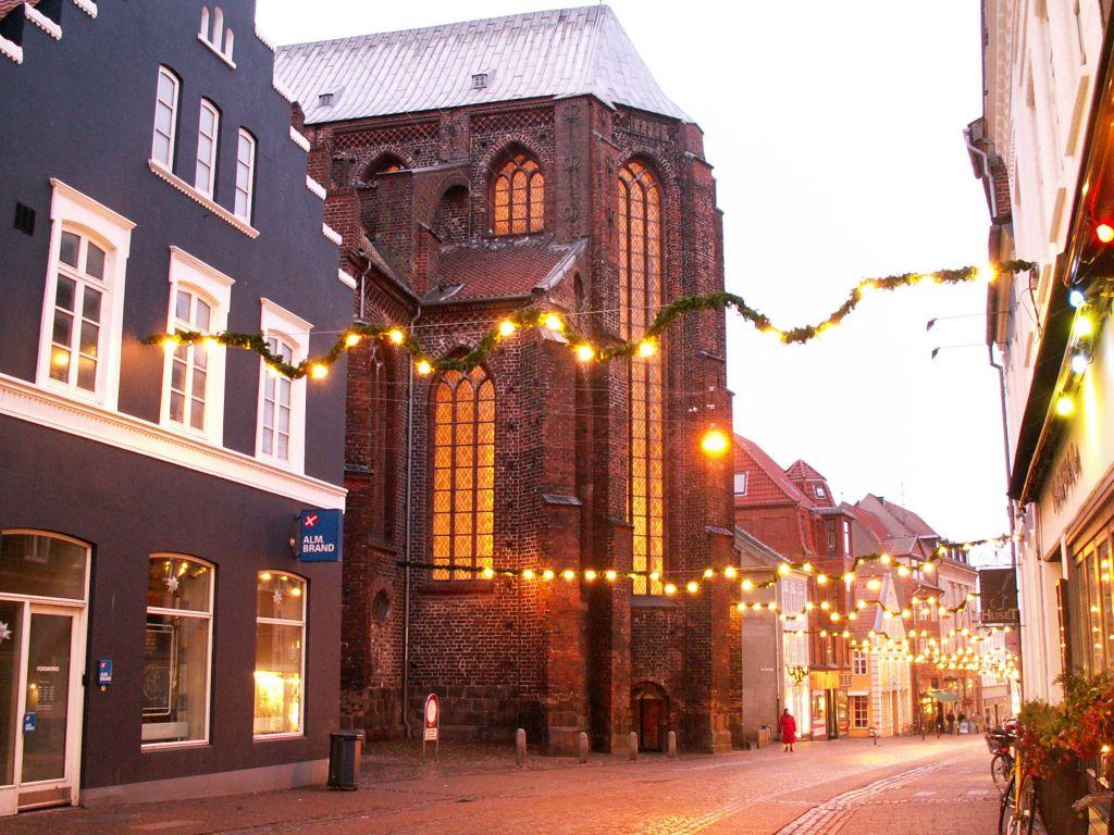 Domkirken ved juletid