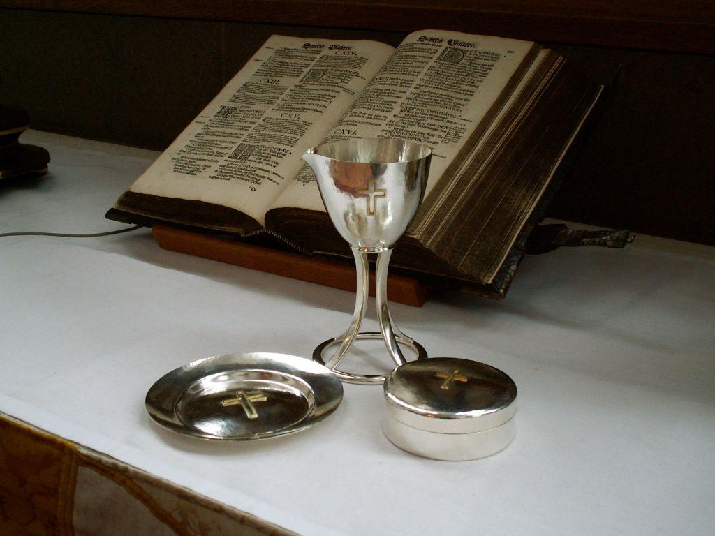Haderslev Domkirke nyt altersølv