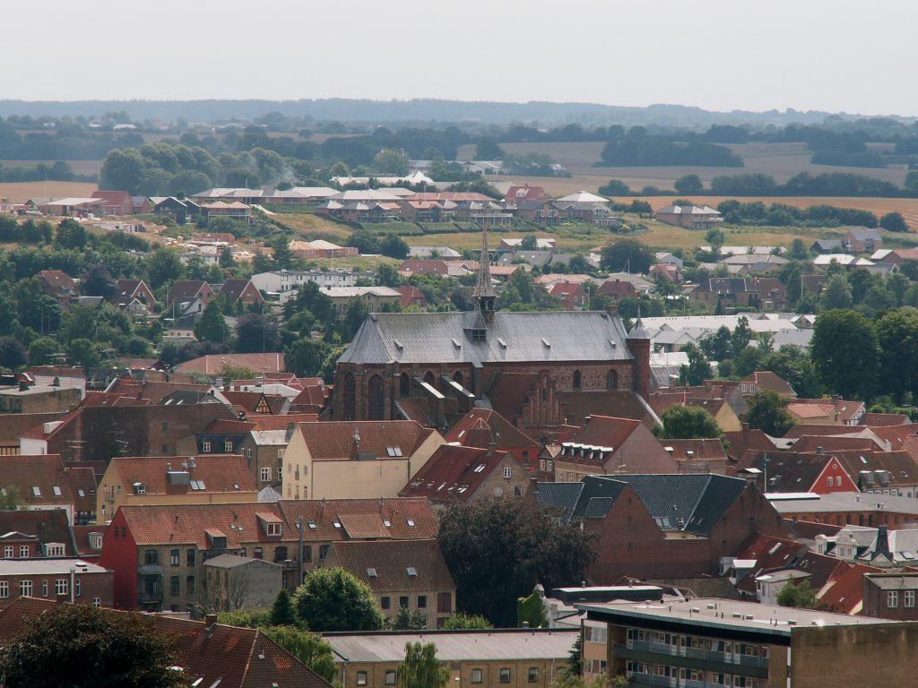 Domkirken fra Vandtårnet