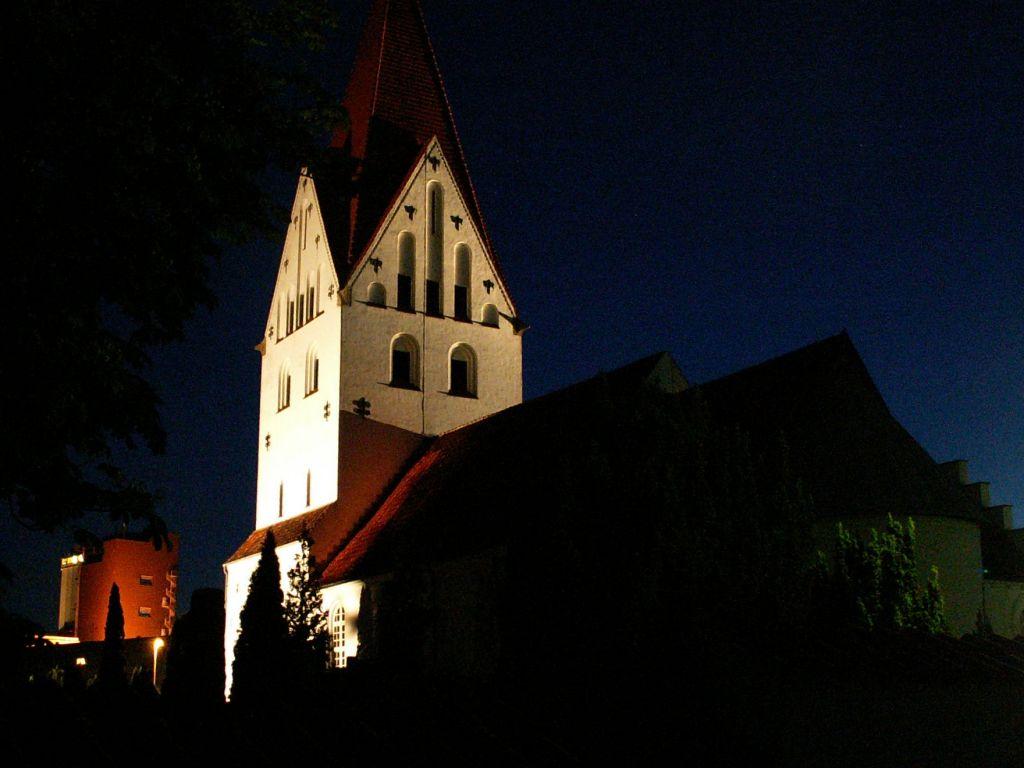 Gl. Haderslev Kirke nat