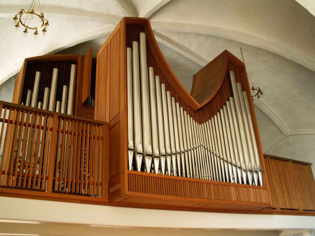 Gl. Haderslev Kirkes orgel