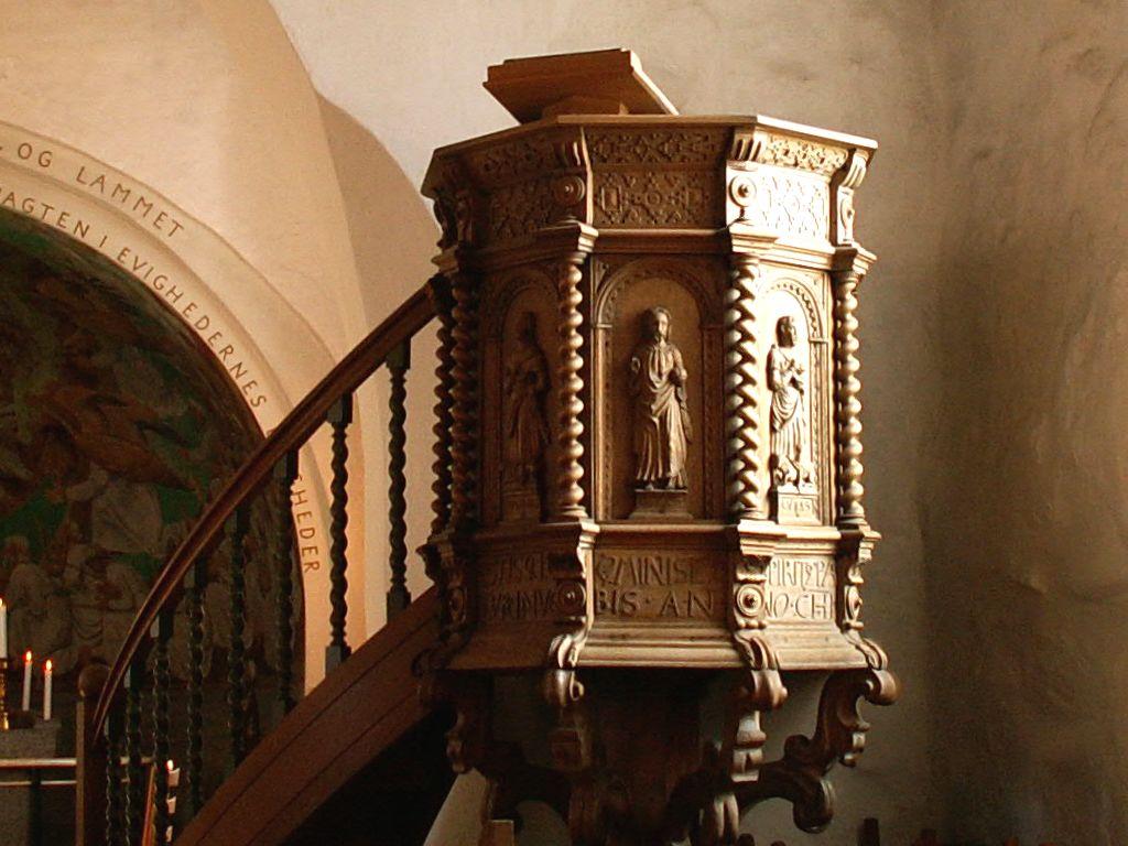 Gl. Haderslev Kirkes prædikestol