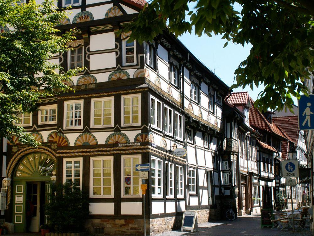 Bindingsværkshuse i Hameln