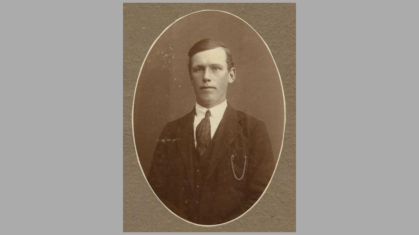 Hans Kolind som ung