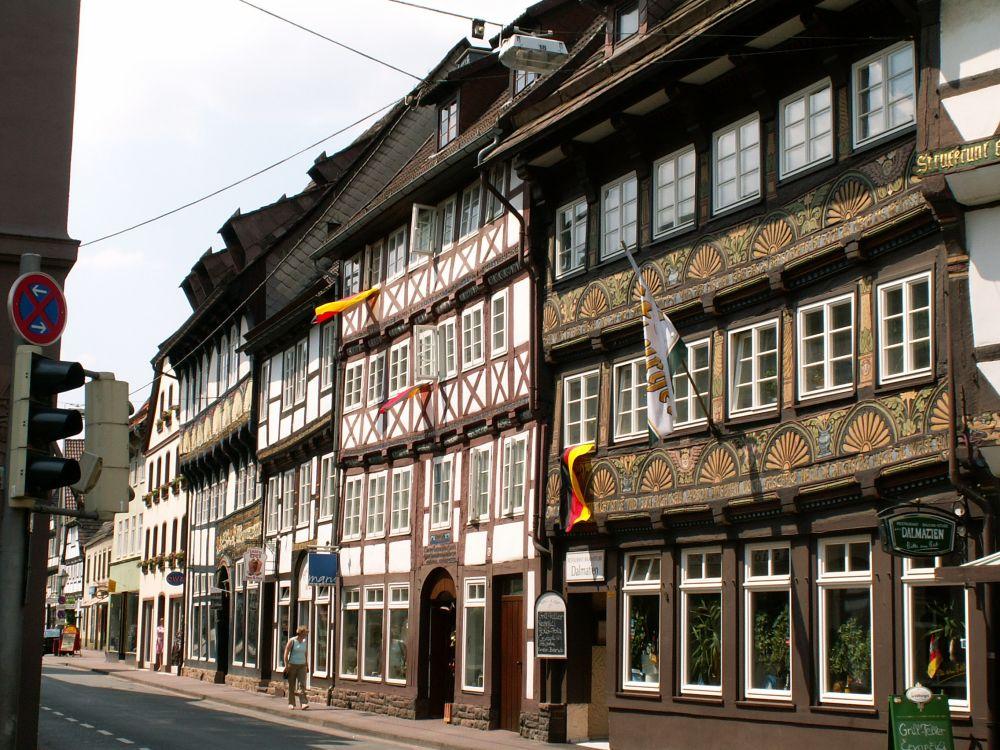Bindingsværkshuse i Höxter
