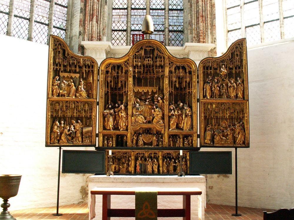 Maria-alter i Mariakirken i Lübeck
