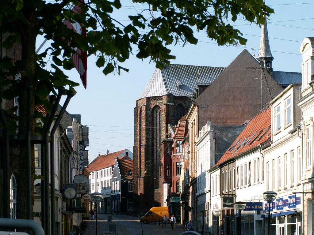Domkirken fra Nørregade