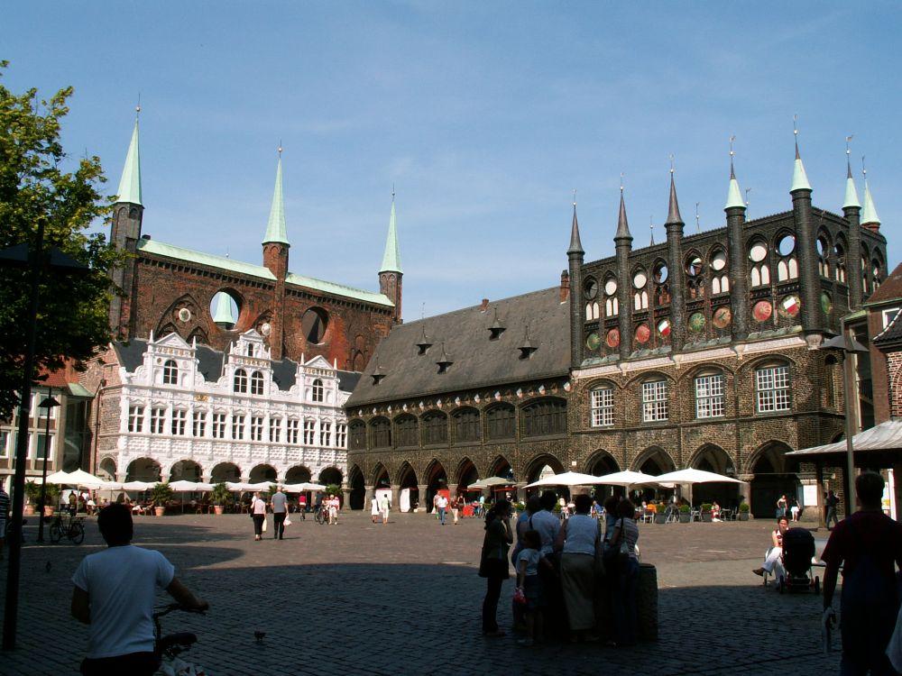 Rådhuset i Lübeck