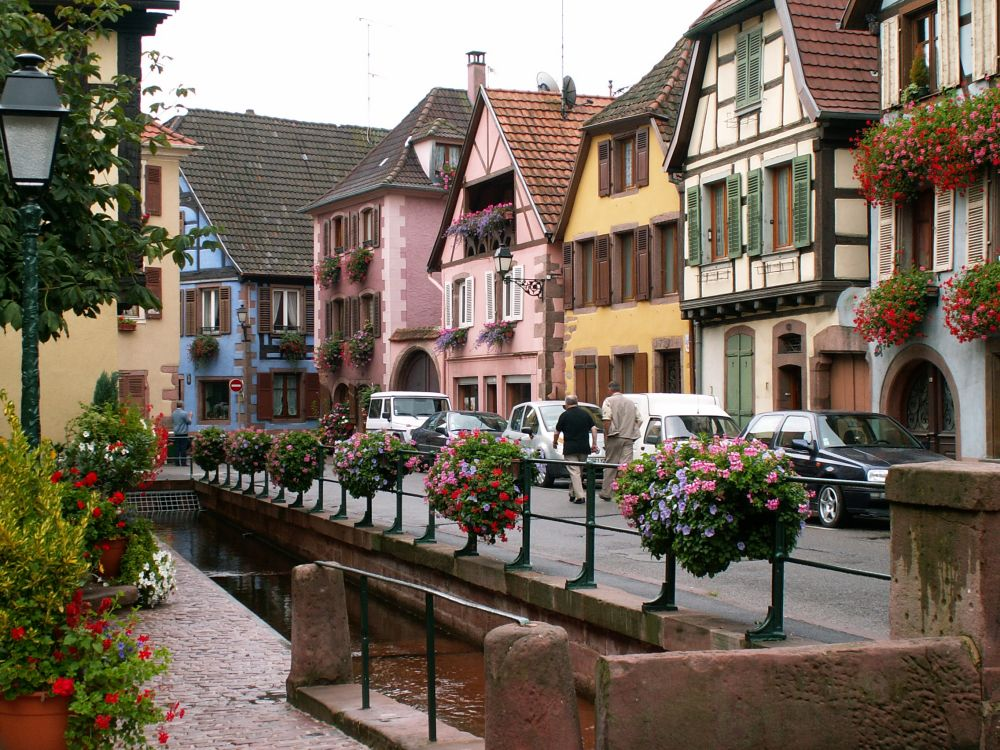 Ribeauville i Alsace