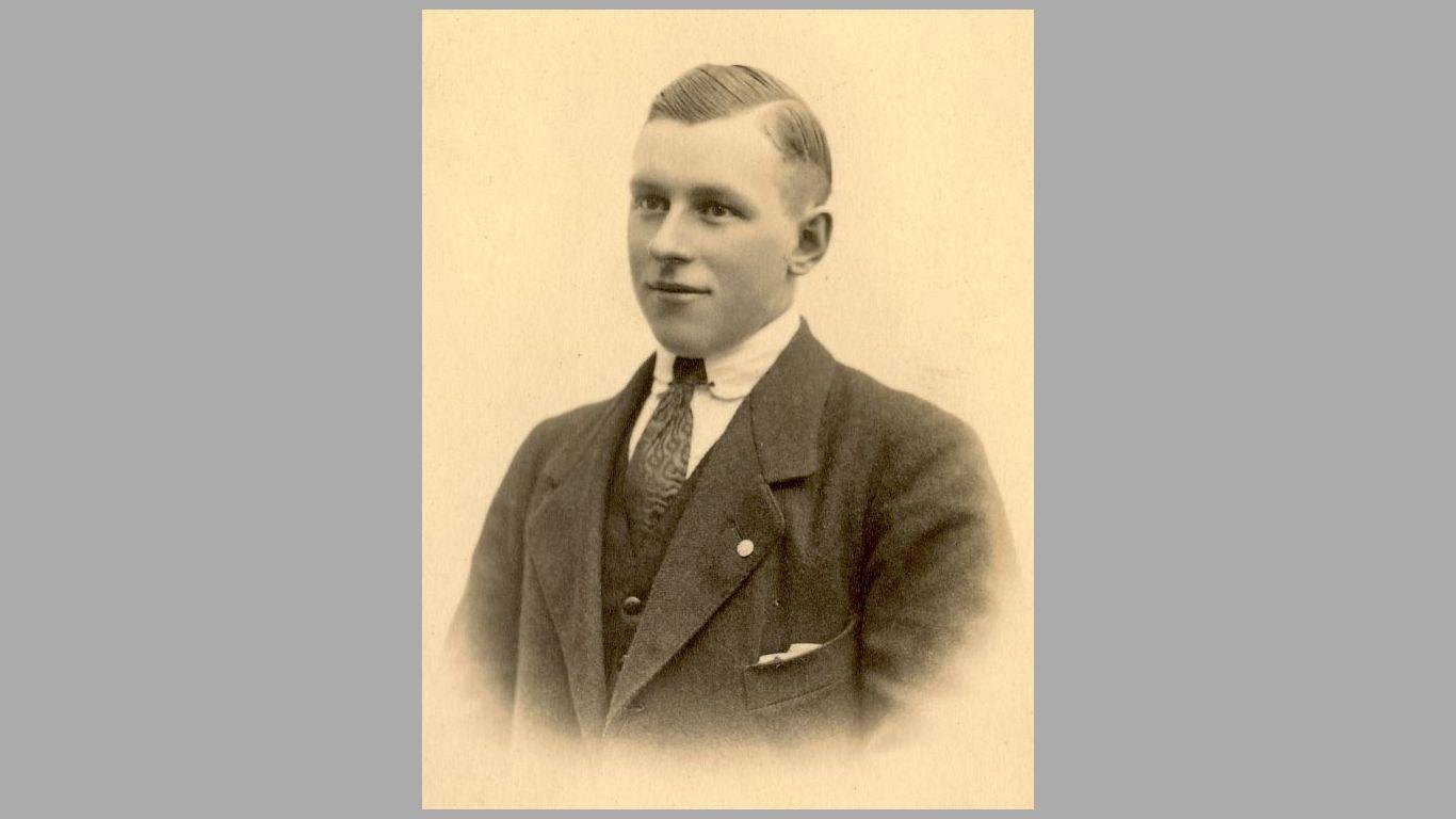 Stefan Kolind som ung