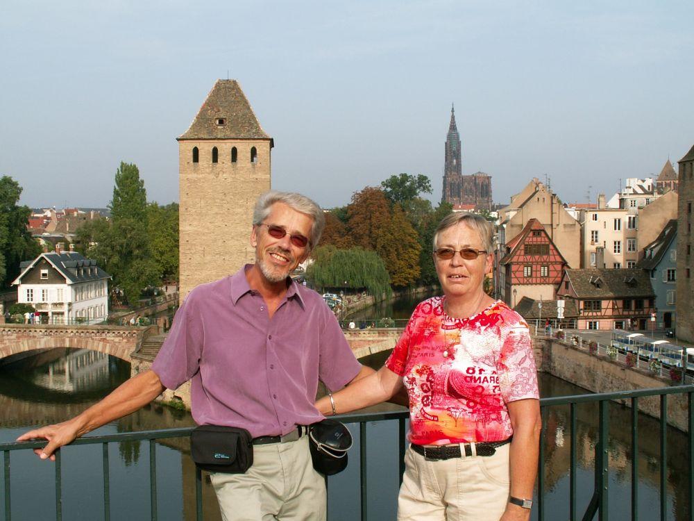 Thorkild og Aase i Strassburg