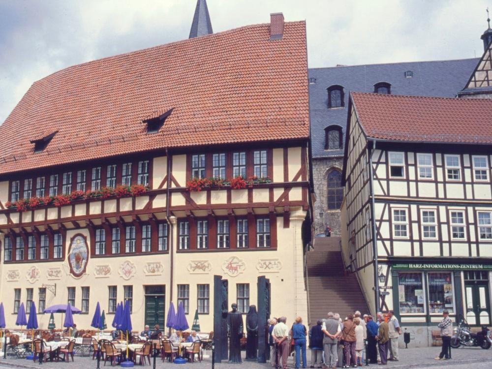 Stollberg med Thomas Münster-monumentet