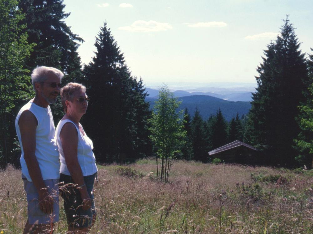 Aase og Thorkild i Harzen