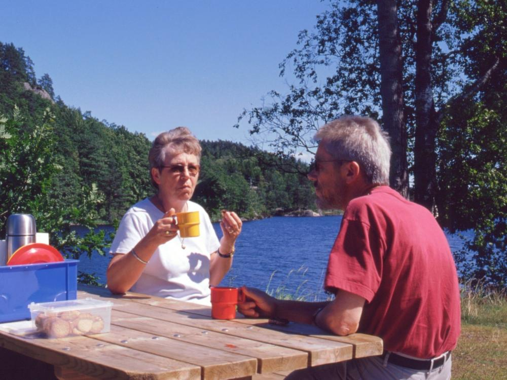 Aase og Thorkild i Setesdalen