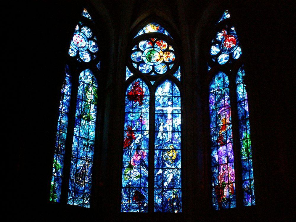 Chagall glasmosaikker i Reims