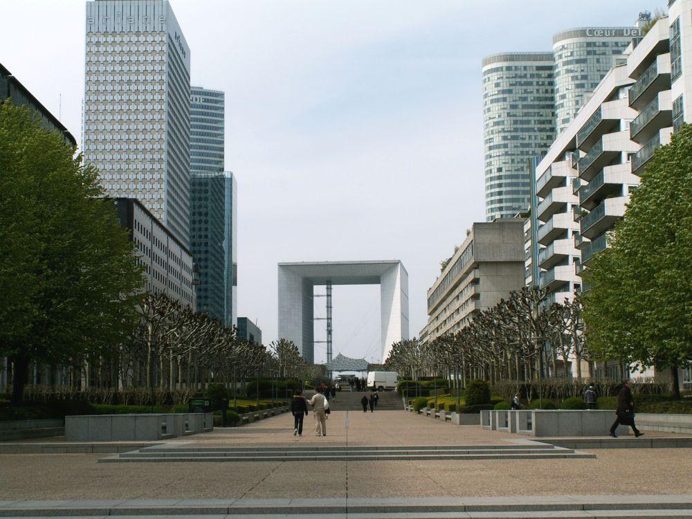 Den nye triumfbue i La Défense