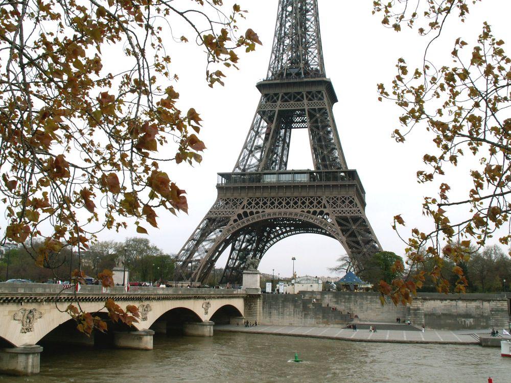 Eifeltårnet fra Seinen